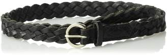 Fossil Women's Skinny Braid Belt , L