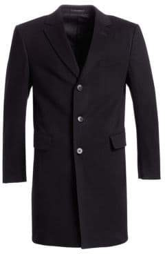 Ermenegildo Zegna Long Wool Overcoat