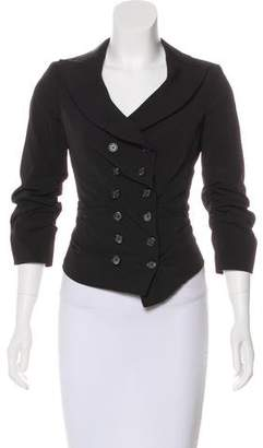 Elizabeth and James Double-Breasted Collar Jacket