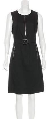 Tory Burch Belted Sleeveless Dress