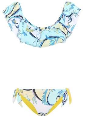 Emilio Pucci Beach Printed bikini set