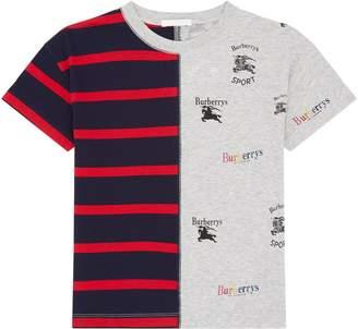 Burberry Stripe Logo T-Shirt