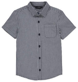 Gingham Check Print Shirt