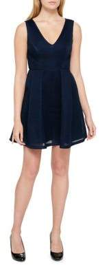 Guess Sleeveless Fit-&-Flare Dress