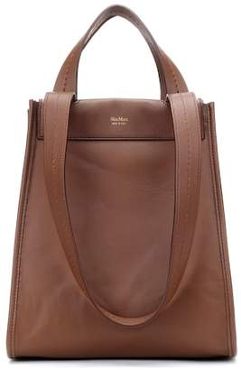 Max Mara Large reversible leather shopper