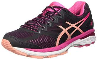 Asics GT-2000 4, Women Training Running, Multicolor (Black/Peach Melba/Sport Pink)