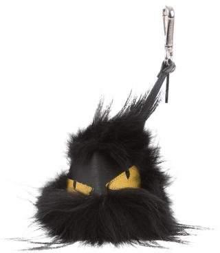 Fendi Fox Fur Fusto Bag Bug Charm