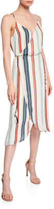 Cupcakes And Cashmere Pirelli Striped Dress