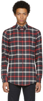 DSQUARED2 Tricolor Button-Down Check Shirt