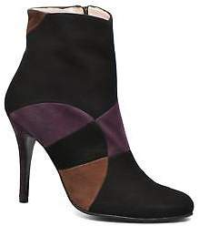 Amalia Women's Anna Volodia Zip-up Ankle Boots in Multicolor
