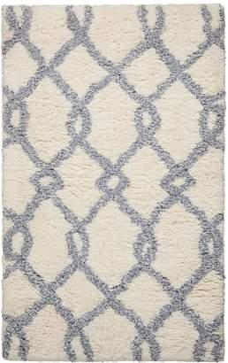 Nourison Morocco Lattice Shag Rug - 2'6'' x 4'