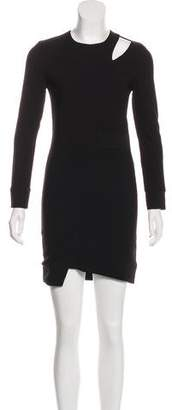 IRO Long Sleeve Mini Dress