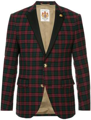 Education From Youngmachines single breasted check blazer