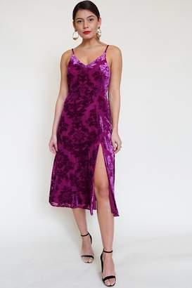 Yumi Kim Socialite Velvet Dress