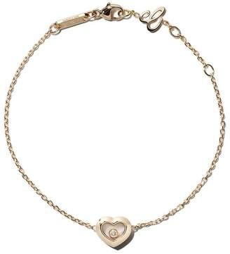Chopard (ショパール) - Chopard ハッピーダイヤモンド アイコン ブレスレット 18Kイエローゴールド