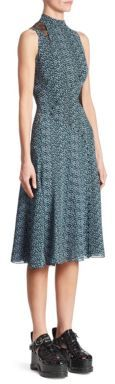 Proenza Schouler Silk Asymmetric Dress $1,350 thestylecure.com