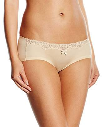 Maidenform Women's Comfort Devotion Embellished Hipster Panty, Beige (Latte Lift/Ivory), 12