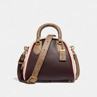 Coach Marleigh Satchel In Signature Canvas
