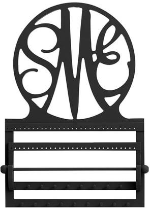 Pottery Barn Teen Script Monogram Wall Jewelry Storage