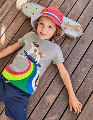 Boden Action Applique T-shirt