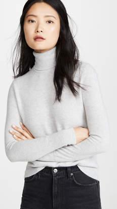 Bop Basics Solid Cashmere Turtleneck