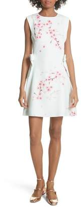 Ted Baker BLOSSOM TUNIC WITH SIDE BOW