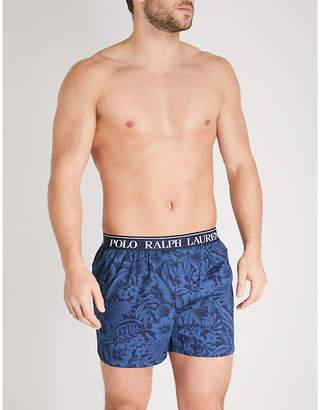 Polo Ralph Lauren Tropical-print slim-fit stretch-cotton boxers