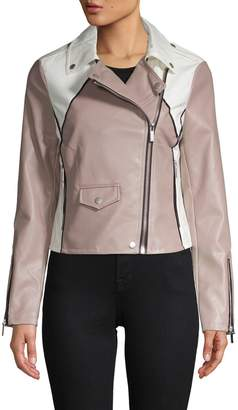 Bagatelle Two-Tone Biker Jacket