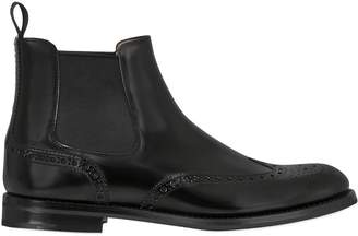 Church's 20mm Brogue Brushed Leather Ankle Boots