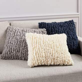 west elm Wool Looped Pillow Covers