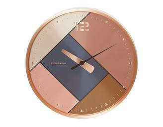 Cloudnola CLOUDNOLA RUBIK WALL CLOCK - ROSE GOLD