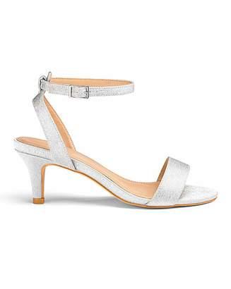 ea9a38607 Jd Williams Kitten Heel Strappy Sandals E Fit