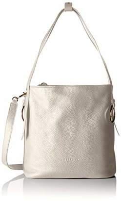 Liebeskind Berlin Women's Shoulder Bag Grey Size: 14x30x27 cm