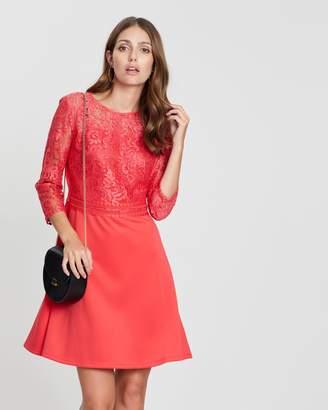 Dorothy Perkins 3/4 Sleeve Skater Dress