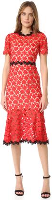 Jill Jill Stuart Floral Lace Dress $458 thestylecure.com