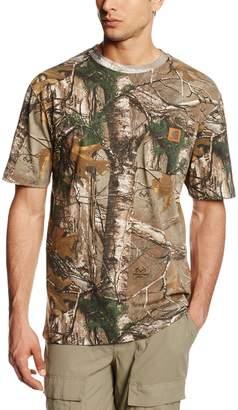 Carhartt Men's Work Camo Short Sleeve T-Shirt Original Fit,Realtree
