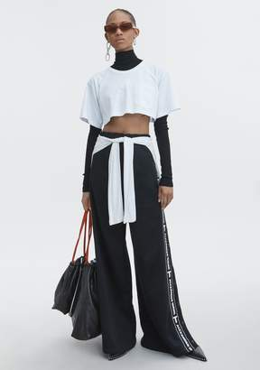 Alexander Wang EXCLUSIVE CROP TEE