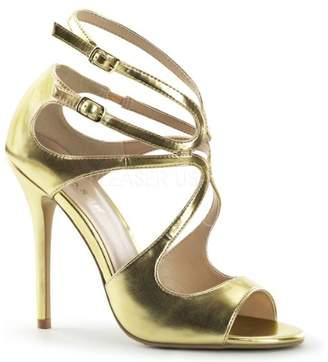 Pleaser USA Women's Amu15/gmpu Platform Sandal