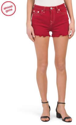True Religion High Waist Cut Off Shorts