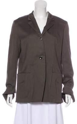 Hache Distressed Long Sleeve Blazer w/ Tags