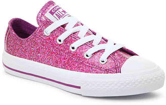 Converse Chuck Taylor All Star Glitter Toddler & Youth Sneaker - Girl's