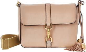 G.I.L.I. Got It Love It G.I.L.I. Leather Sporty Crossbody with Canvas Strap