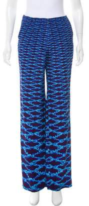 Mary Katrantzou Printed Mid-Rise Pants