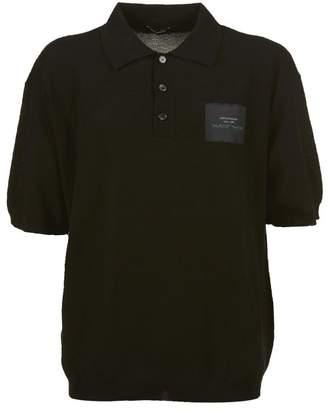 Raf Simons Patch Detail Polo Shirt