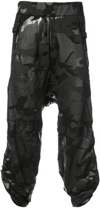 Mostly Heard Rarely Seen camouflage Crank trousers
