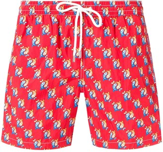 d49d7059feb Patterned Men's Swim Shorts - ShopStyle UK