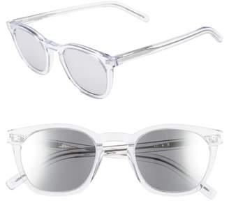 Saint Laurent 28-002 49mm Sunglasses
