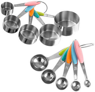 CLASSIC CUISINE Classic Cuisine Stainless Steel Measuring Cups And Spoons Set