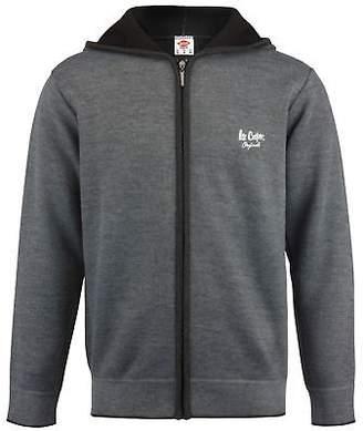 Lee Cooper Mens Knit Zipped Hoodie Sweater Hoody Hooded Top Jumper Pullover