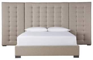 Everly Quinn Garton Upholstered Panel Bed